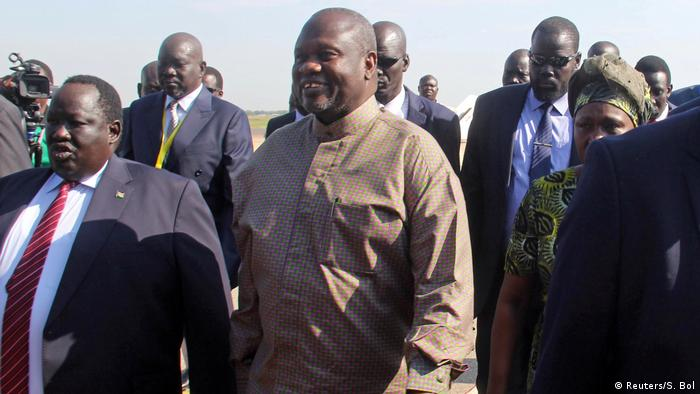 Südsudan Rückkehr von Riek Machar