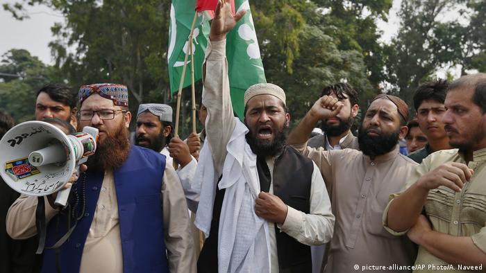Islamistische Demonstration in Islamabad