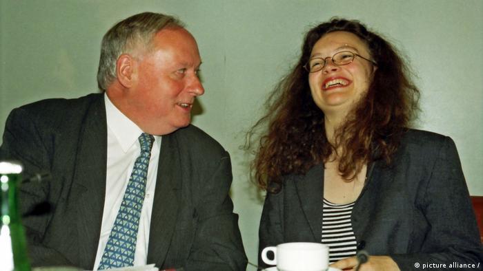 Archivbild: Andrea Nahles 1996