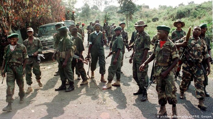 Rebeldes congoleses (foto de arquivo)