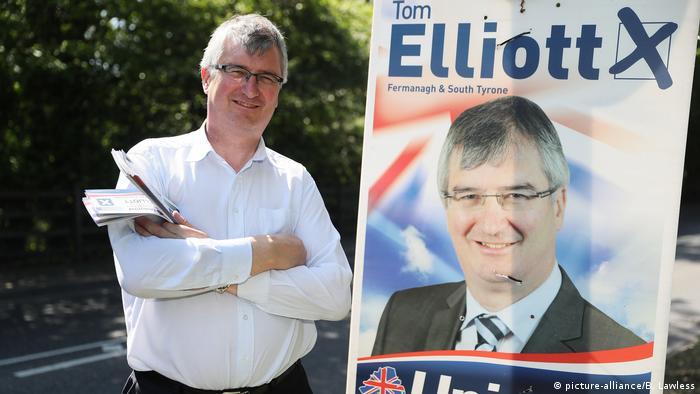 Irland: Politiker Tom Elliott (picture-alliance/B. Lawless)