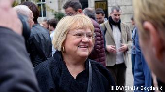 Kroatien Zagreb Abgeordnete Anka Mrak Taritaš