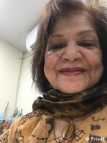 Anis Haroon, women rights activist in Pakistan (Privat)