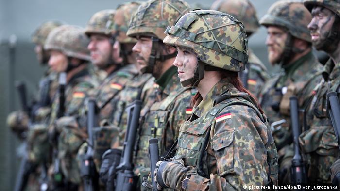 Військовослужбовці Бундесверу в Литві