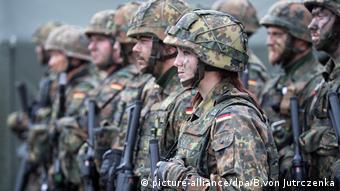 Военослужащие бундесвера в Литве