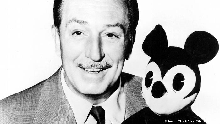 Walt Disney posing with Mickey Mouse (Imago/ZUMA Press/Globes Photos)