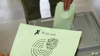 Landtagswahl Thüringen August 2009