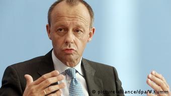 Pressekonferenz Friedrich Merz (picture-alliance/dpa/W.Kumm)