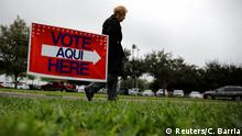 USA Early Voting in McAllen, Texas