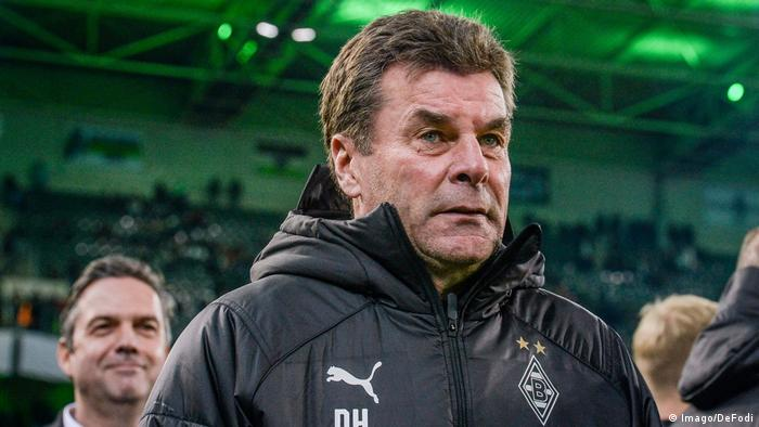 Dieter Hecking will leave Gladbach at the end of the season (Imago/DeFodi)