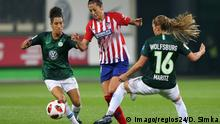 Fussball Champions League Frauen Viertelfinale l VFL Wolfsburg vs Atletico Madrid 2:0