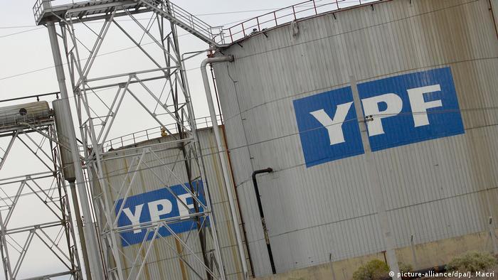 La petrolera estatal argentina YPF produce, en conjunto con empresas internacionales, petróleo y gas en Vaca Muerta.