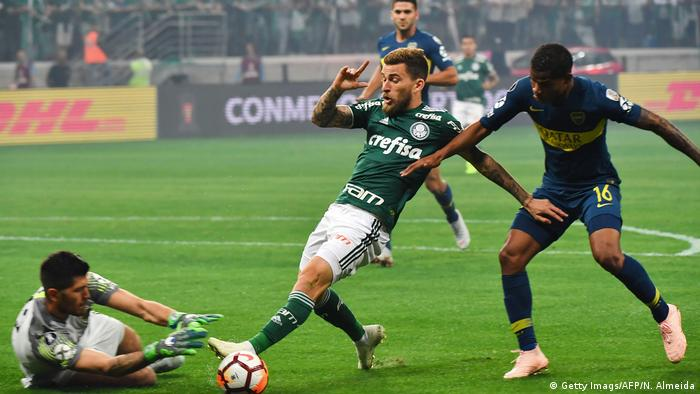 Fussball Copa Libertadores l Palmeiras vs Boca Juniors 2:2 (Getty Imags/AFP/N. Almeida)
