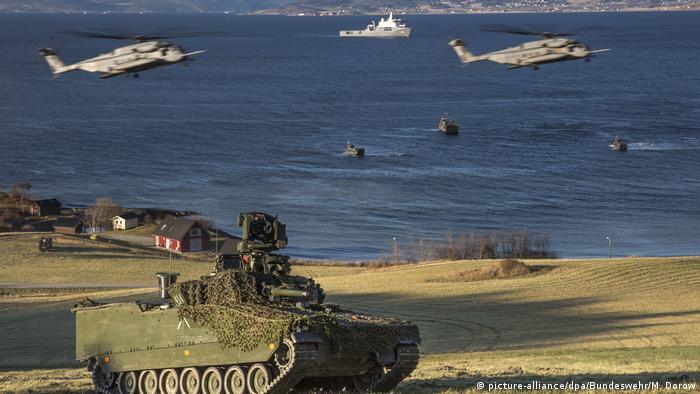 Учения стран НАТО Trident Juncture в Норвегии, 31 октября 2018 года