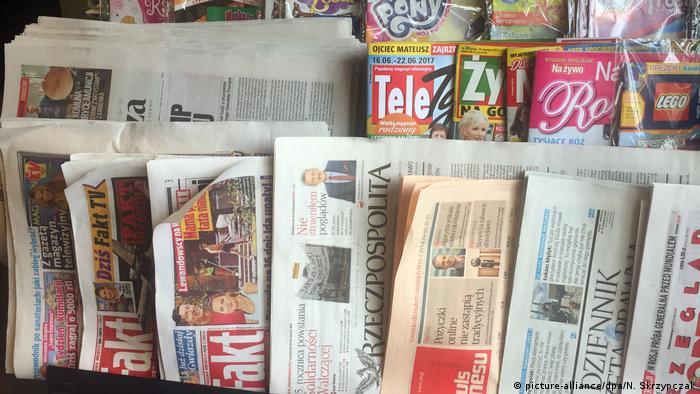 Polen Zeitungskiosk