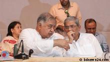 Bangladesch Dhaka Diskussionen politischer Parteien