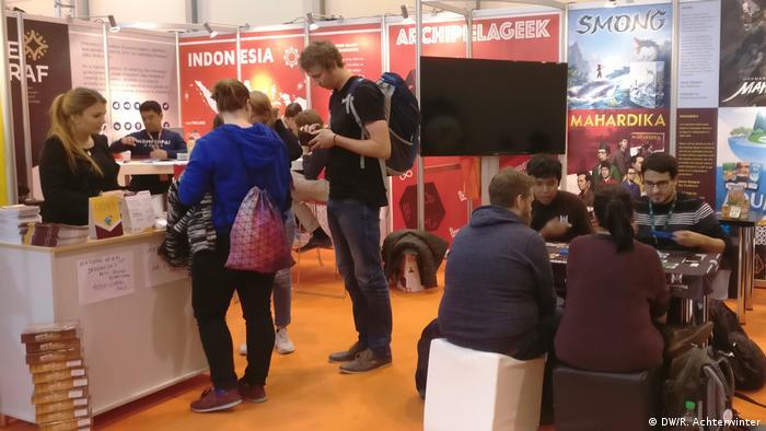 Spielemesse 2018 in Essen Brettspiele (DW/R. Achterwinter)