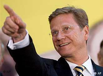 Möchte neuer deutscher Außenminister werden: FDP-Chef Guido Westerwelle