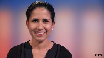 DW Quadriga Sendung Spanisch Ana Soliz