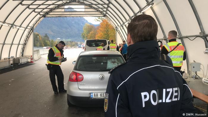 Grenzkontrollen an der deutsch-österreichische Grenze