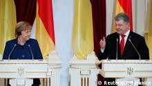 Ukraine Besuch Angela Merkel bei Petro Poroschenko