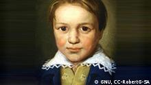 Ludwig van Beethoven im Alter von 13 Jahren