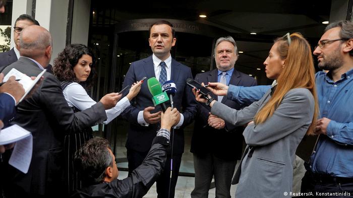 Athen Treffen Vize-Außenminister Mazedonien Namensstreit