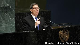 Cuba's Foreign Minister Bruno Rodriguez