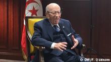 tunesischen Präsidenten Beji Caid Essebsi.
