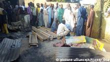 Mutmaßlicher Boko-Haram-Angriff in Nigeria