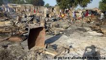 ملیشه های بوکوحرام روستایی را در نیجریا ویران کردند