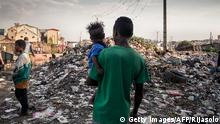 Madagaskar Wahlen Armut Straßenszene