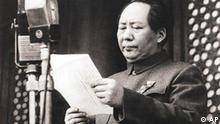 China Peking Mao Tsetung proklamiert die Volksrepublik China