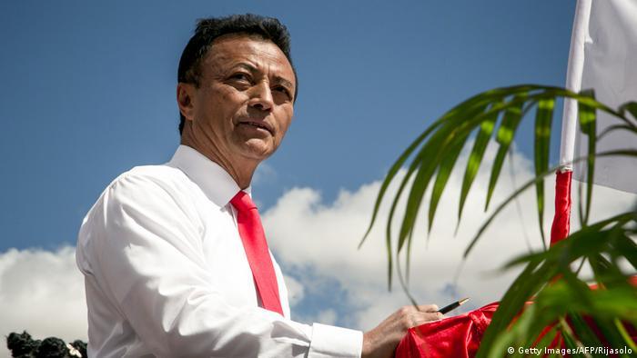 Madagaskar Wahlen Kandidat Ravalomanana