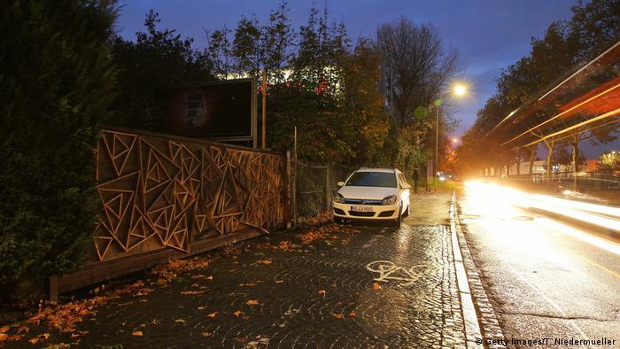 Car parked at alleged rape crime scene in Freiburg (Getty Images/T. Niedermueller)
