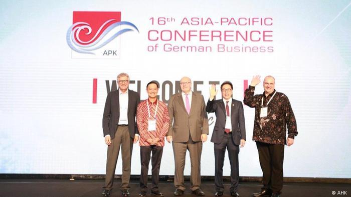 Asien-Pazifik-Konferenz der deutschen Wirtschaft in Jakarta