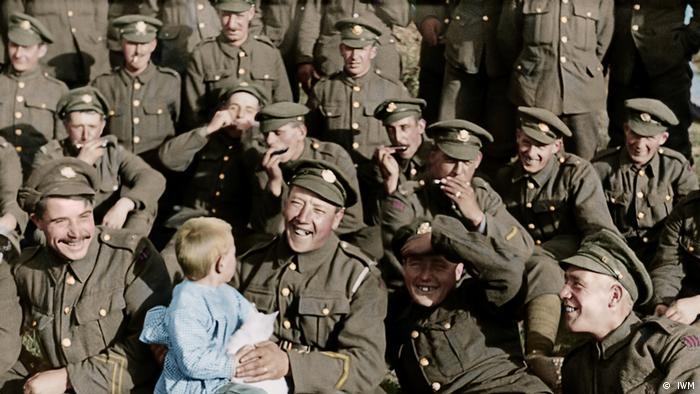 They shall not grow old Film Peter Jackson ( IWM)