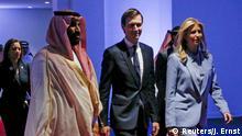 Saudi Kronprinz Mohammed bin Salman, Jared Kushner, Ivanka Trump