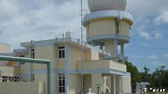 Radarstation (Foto: Lena Fabian)