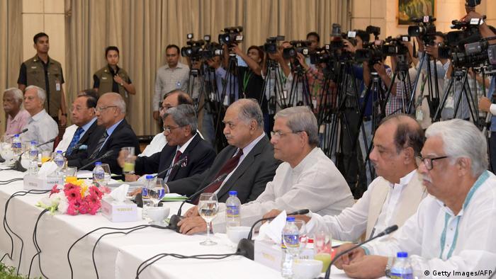Bangladesch Dhaka Dialog Regierung mit Opposition
