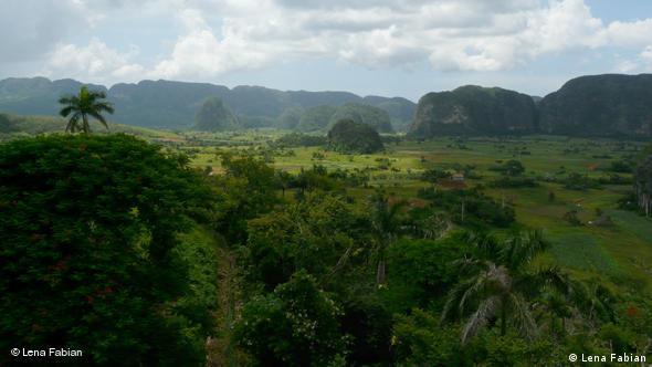 Das Tal von Vinales in der Provinz Pinar del Rio (Foto: Lena Fabian)