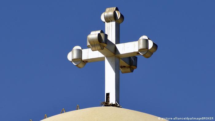 Ägypten | Kuppel mit Kreuz, koptische Kirche, Kathedrale von St. Michael in Assuan