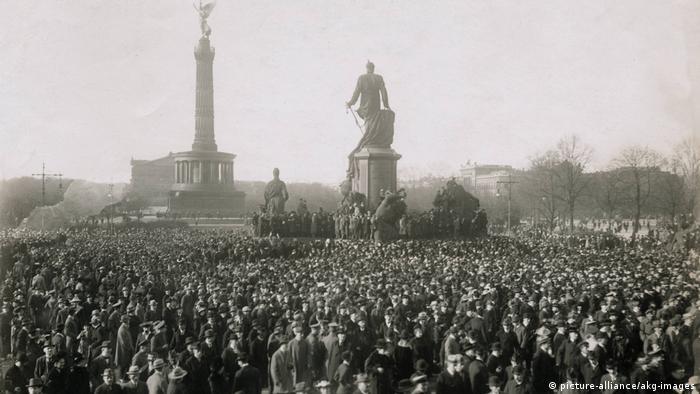 10 ноября: революционная волна докатилась до Берлина