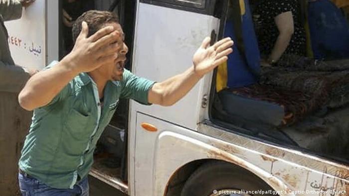 Ägypten Angriff auf Pilger-Bus (picture-alliance/dpa/Egypt's Coptic Orthodox Church)