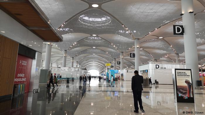 Türkei | Istanbul Airport (DW/B. Güven)