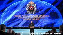 Russland 100-jähriges Jubiläum Militärgeheimdienst Putin