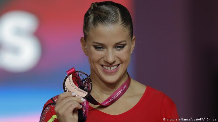 Turn WM in Doha | Elisabeth Seitz holt Bronzemedallie