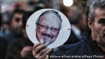 Türkei Istanbul | Protest gegen Mord an Jamal Khashoggi vor Konsulat Saudi-Arabiens