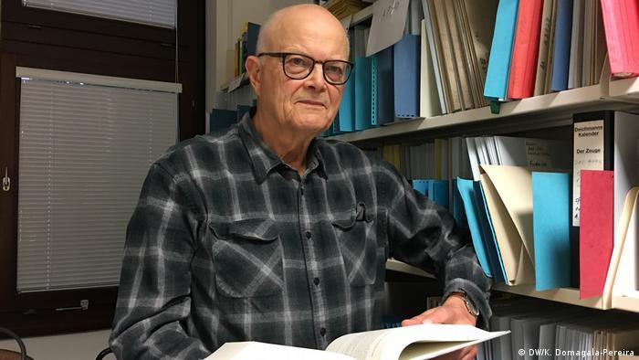 Jeden z autorów książki, historyk Karl Heinz Roth