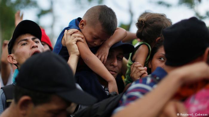 Mexiko Flüchtlinge | Suchiate-Fluss, Grenze zu Guatemala in Ciudad Hidalgo